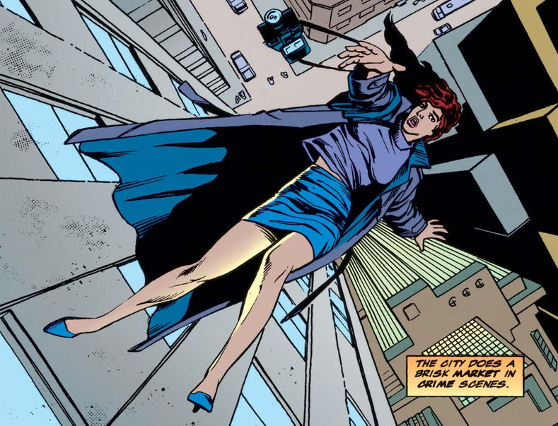 Glorianna falls to her death in Daredevil