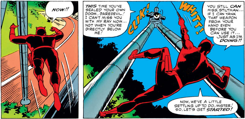 Daredevil vs Stilt-Man