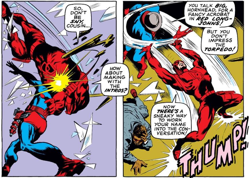 Daredevil vs Torpedo