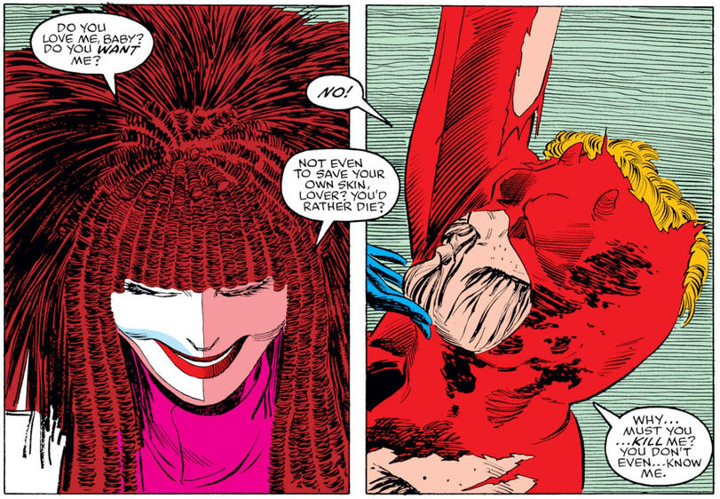 Typhoid Mary and Daredevil