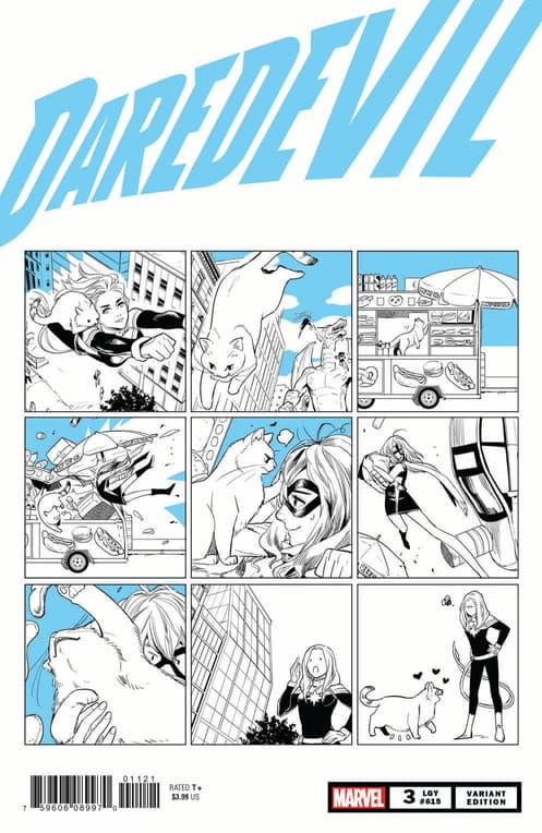 Daredevil Marvel Meow Variant