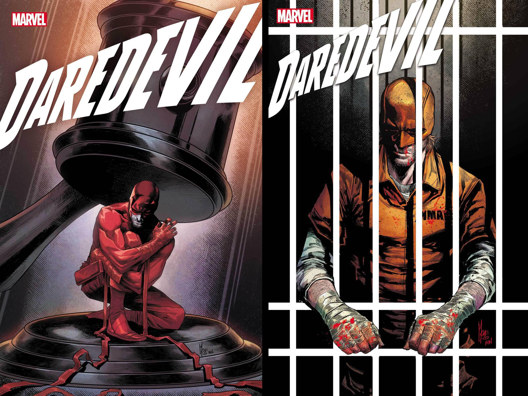 Daredevil #24 and #25