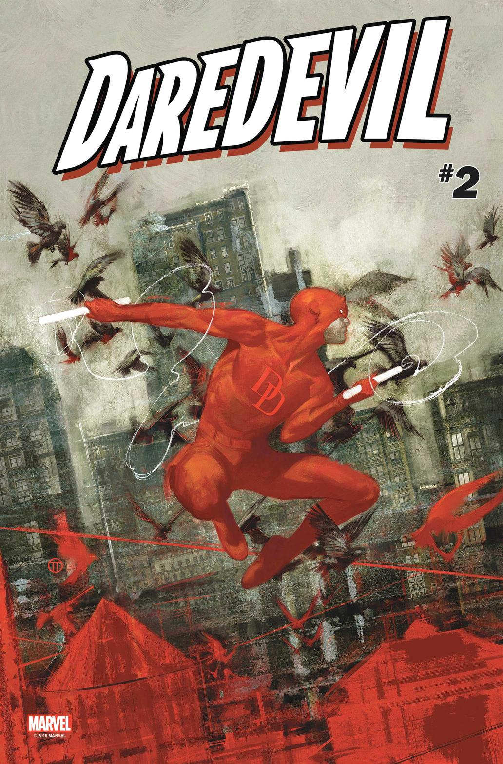 Cover of Daredevil #2