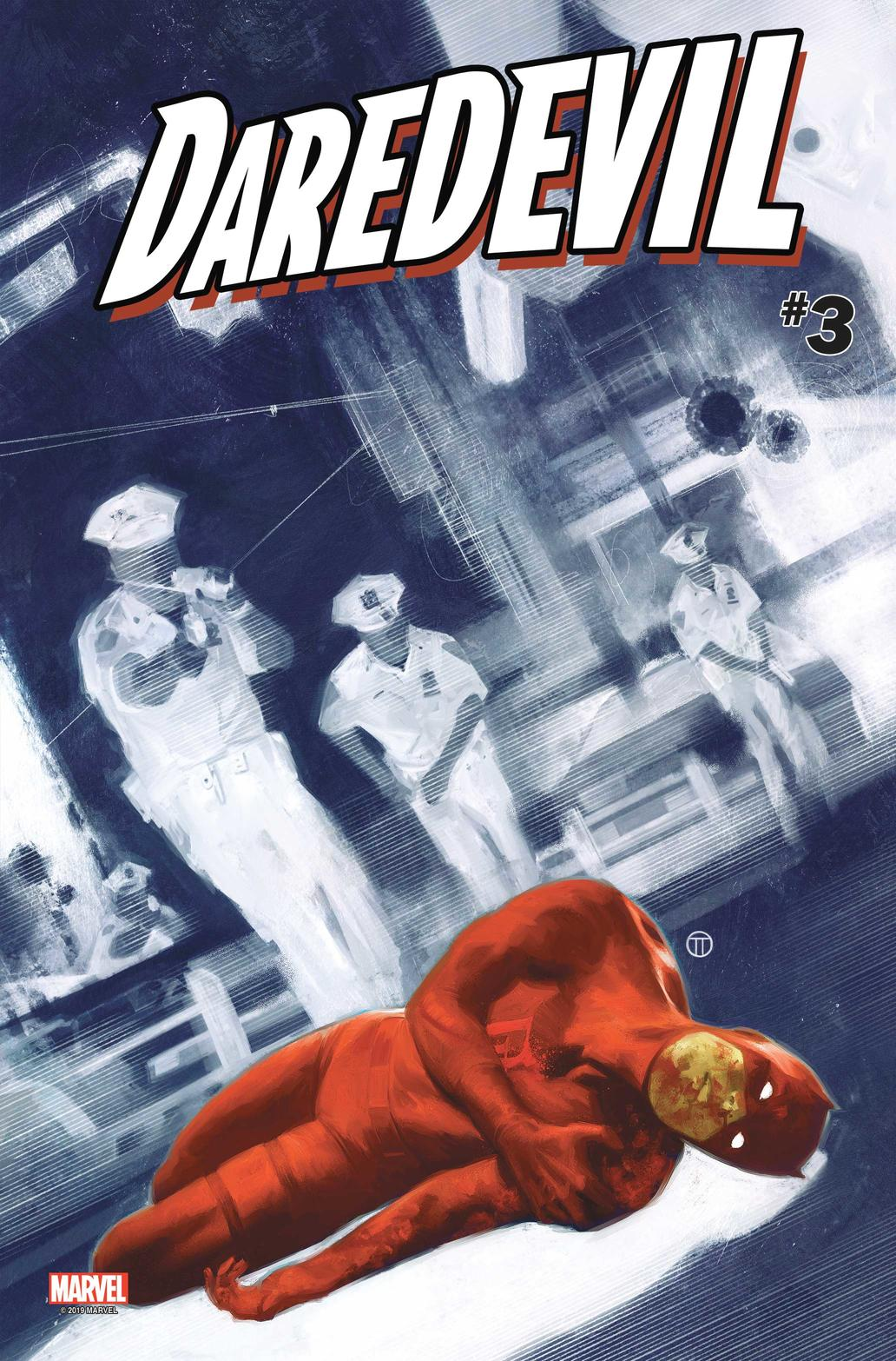 Cover of Daredevil #3