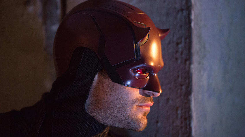 "Charlie Cox as Matt Murdock/Daredevil in ""Marvel's Daredevil"""