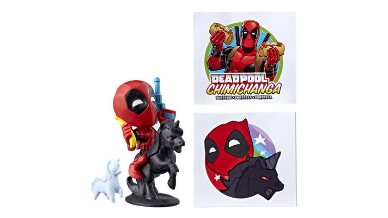 Marvel Deadpool Chimichanga Surprise
