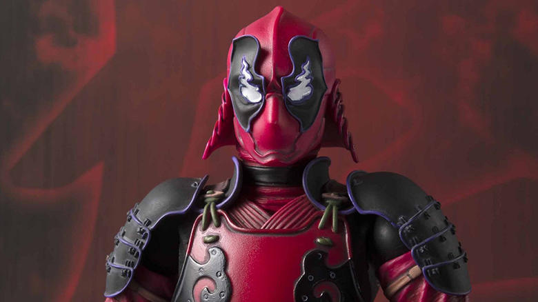 Tamashii Nations Marvel Manga Realization Comic and Kabukimono Deadpool Figure Coming to San Diego Comic-Con