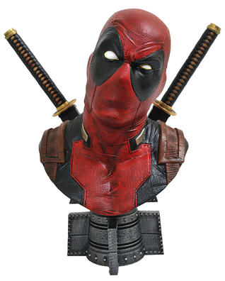 Legends in 3D Marvel Comics Deadpool ½ Scale Resin Bust