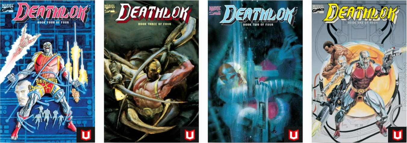 Deathlock covers