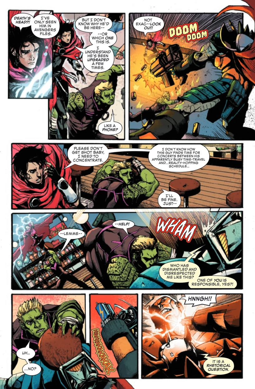 Wiccan and Hulkling in Death's Head #1