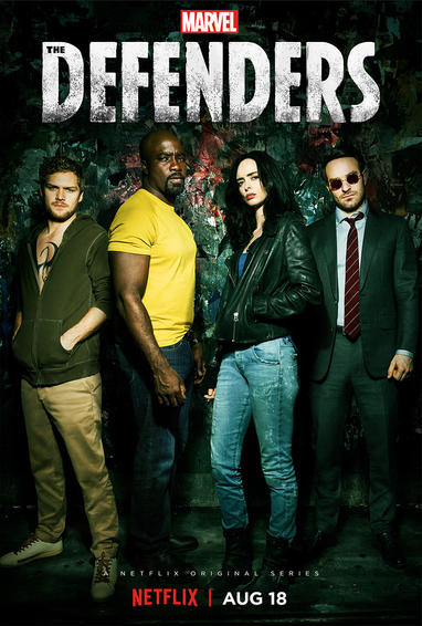 Marvel's Defenders Season 1 TV Show Poster