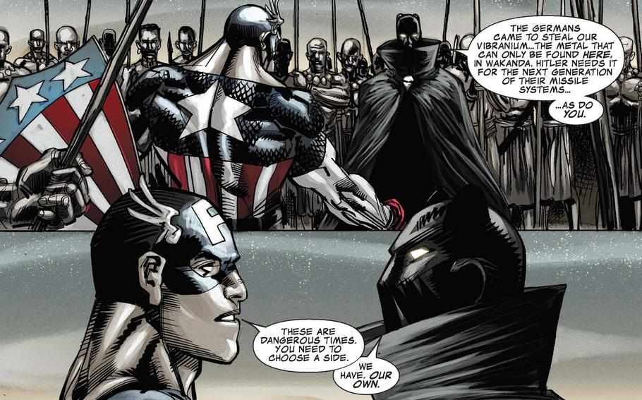 'Captain America/Black Panther: Flags of Our Fathers'
