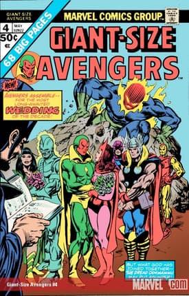 Giant Size Avengers #4