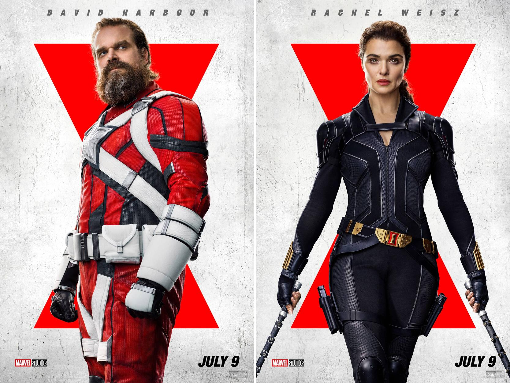 Brand-New Posters Arrive for 'Black Widow' | Marvel