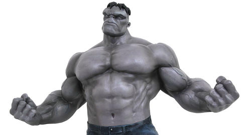 Grey Hulk figure