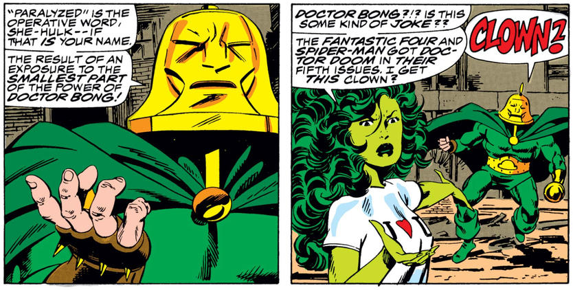 Doctor Bong and She-Hulk