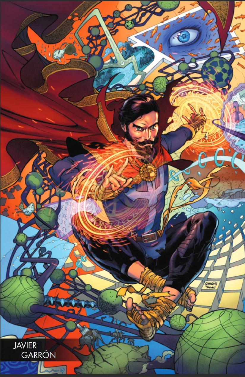 Doctor Strange Damnation variant cover