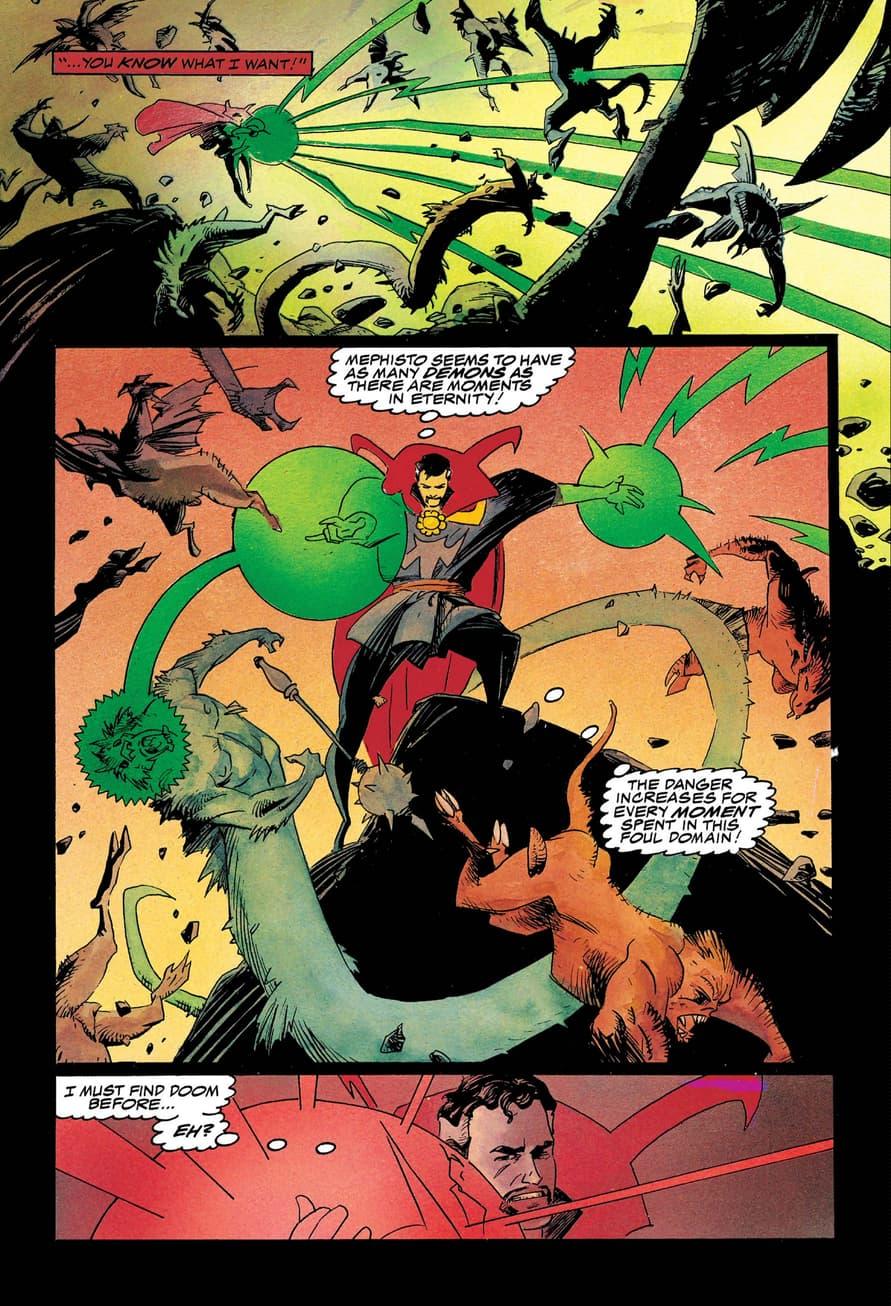 Doctor Strange graphic novel