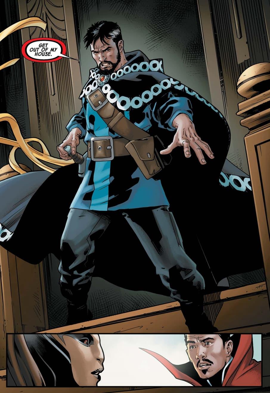 "The ""other"" Doctor Strange in DOCTOR STRANGE (2018) #6."