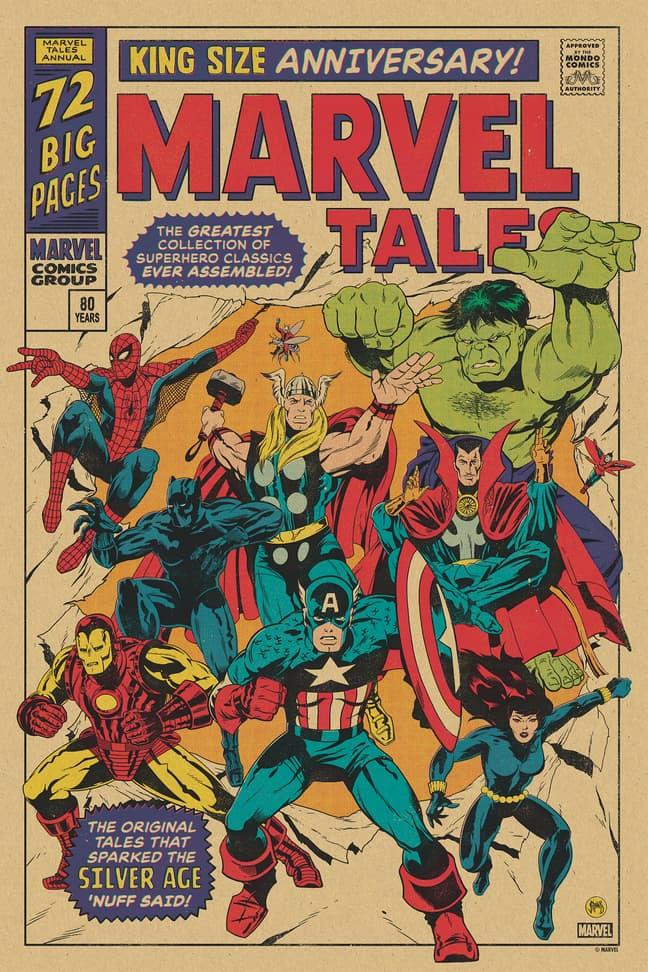 Marvel Mondo Poster - Johnny Dombrowski