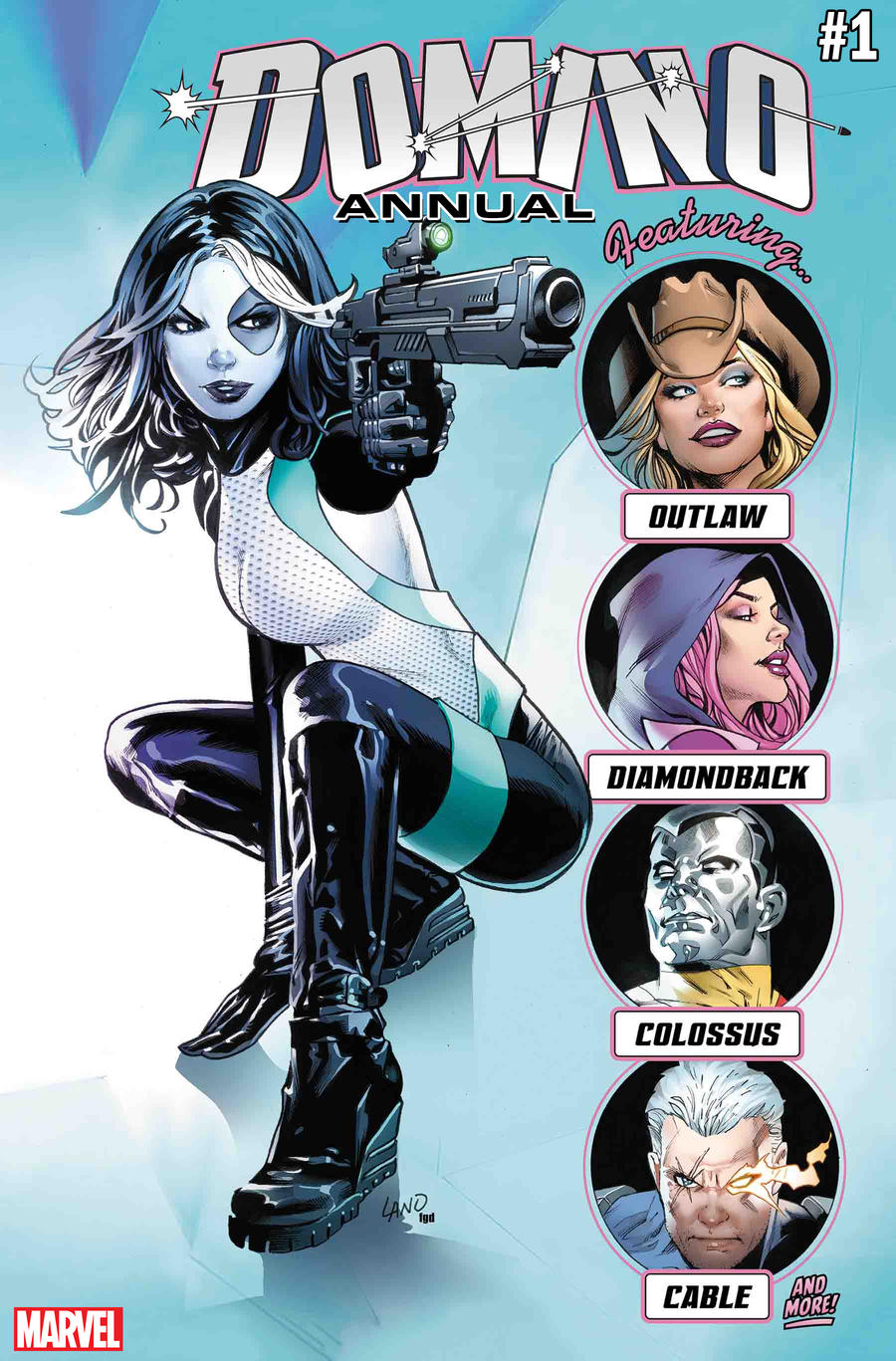 Cover of Domino Annual #1
