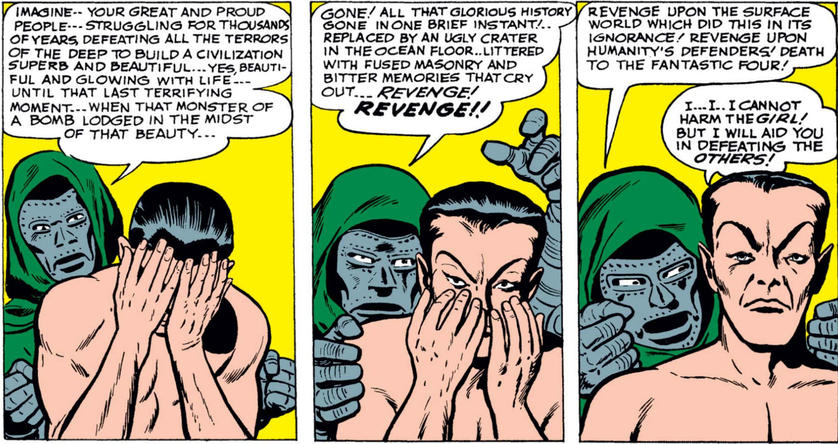 Doom manipulates Namor