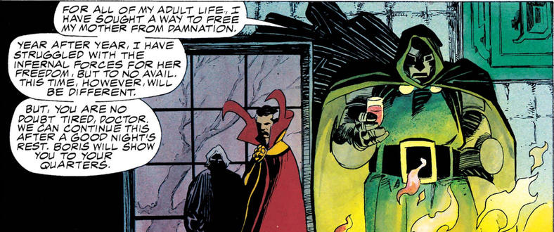Doom and Doctor Strange