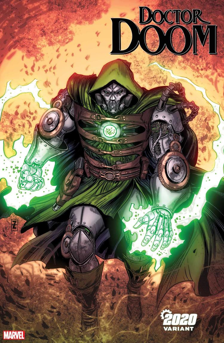 DOCTOR DOOM #3 2020 VARIANT by PATCH ZIRCHER with colors by MORRY HOLLOWELL