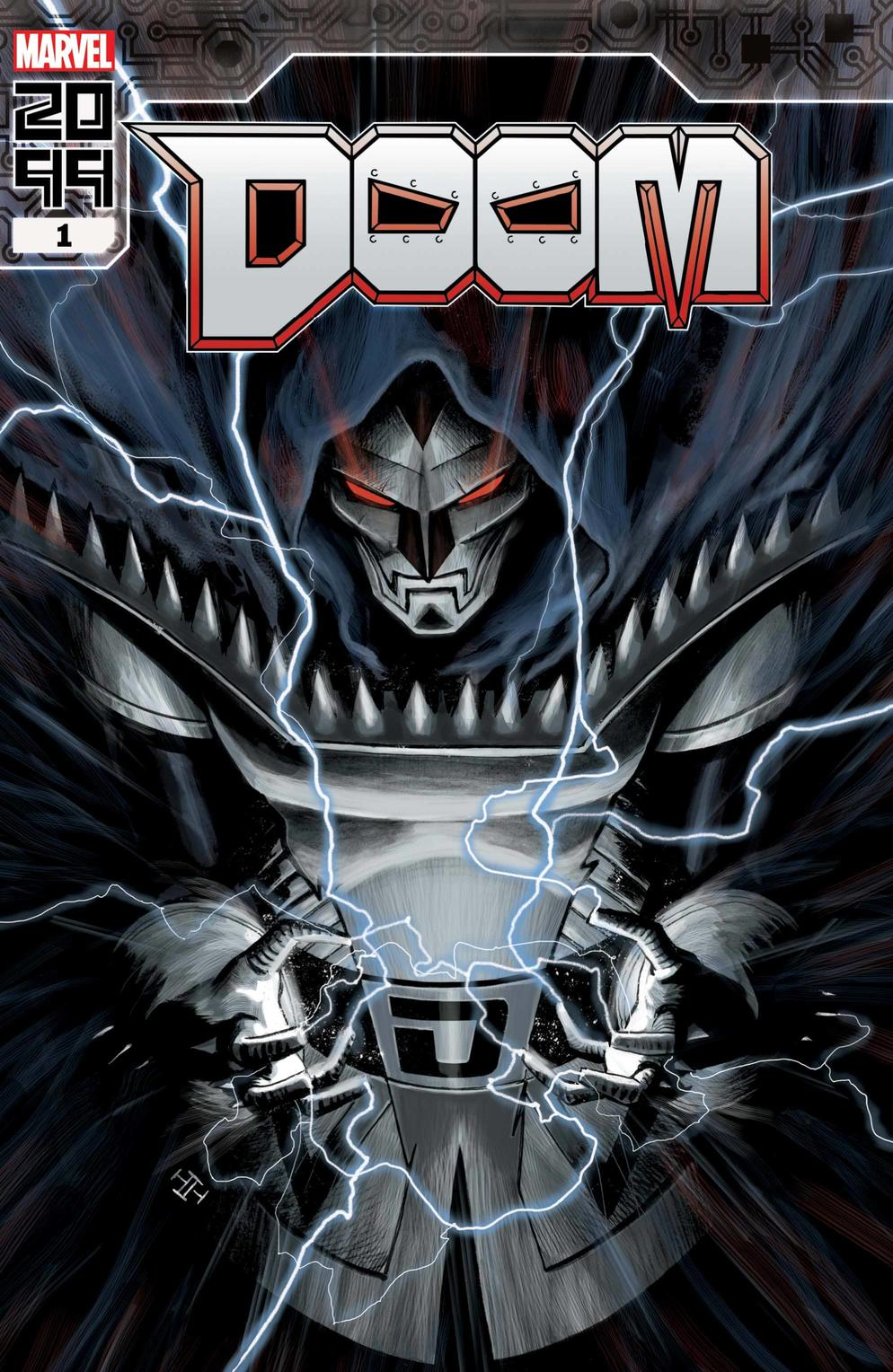 DOOM 2099 #1 variant cover by Max Fiumara