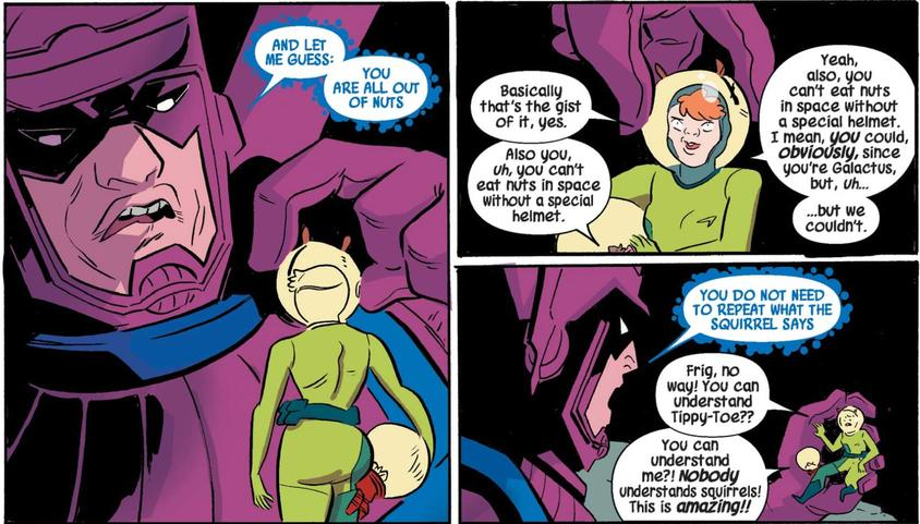 Squirrel Girl and Galactus