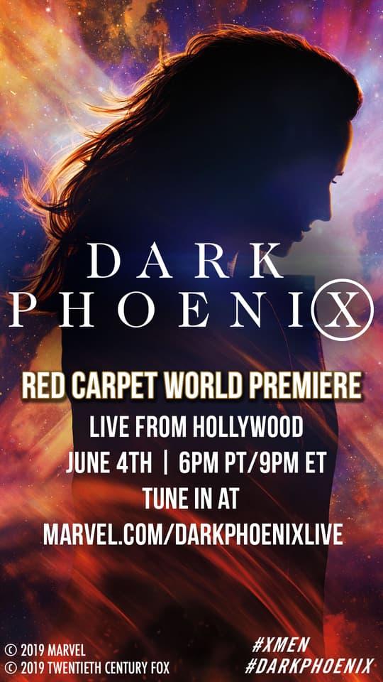 Dark Phoenix livestream