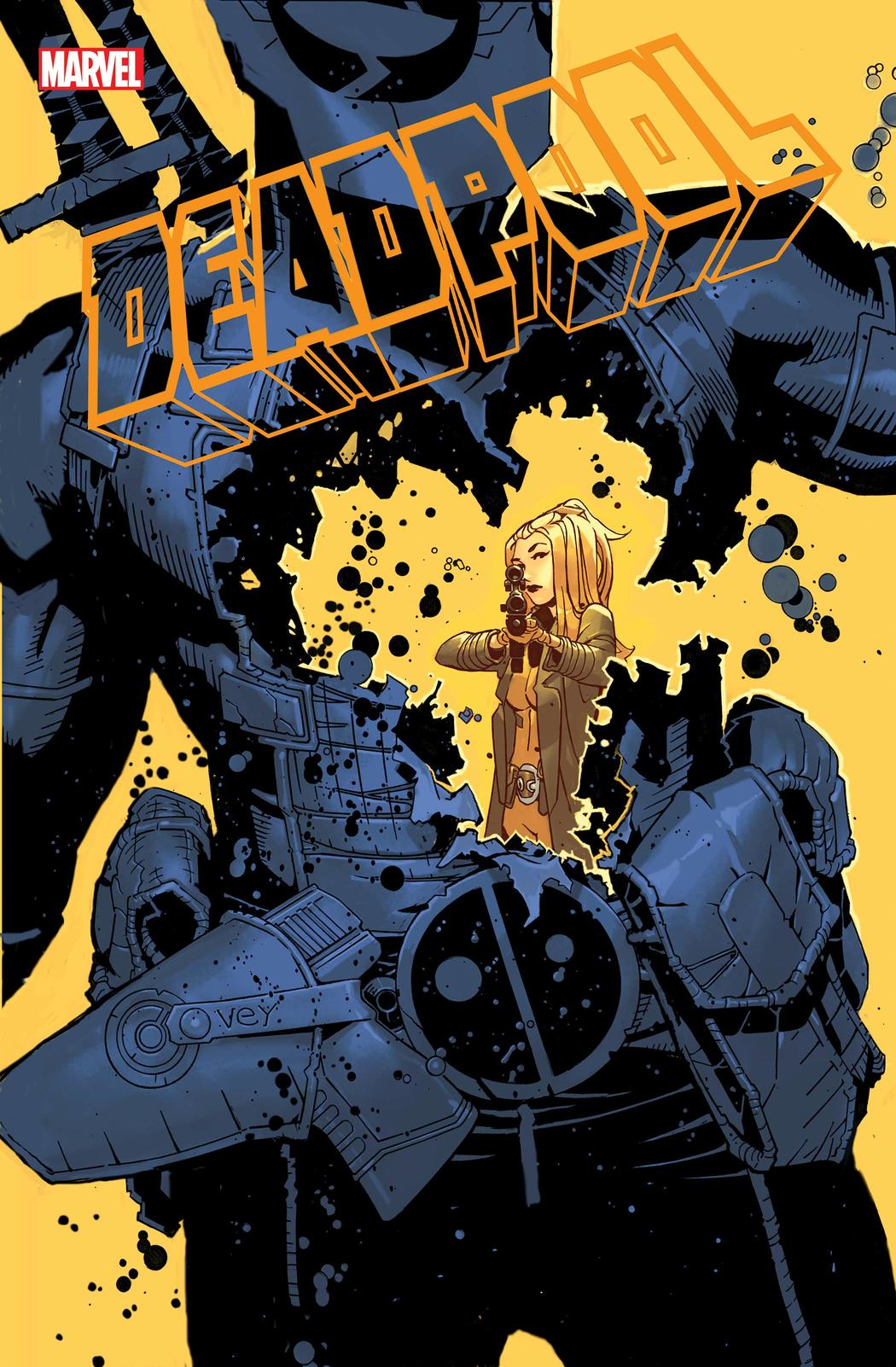 DEADPOOL #7 cover by Chris Bachalo
