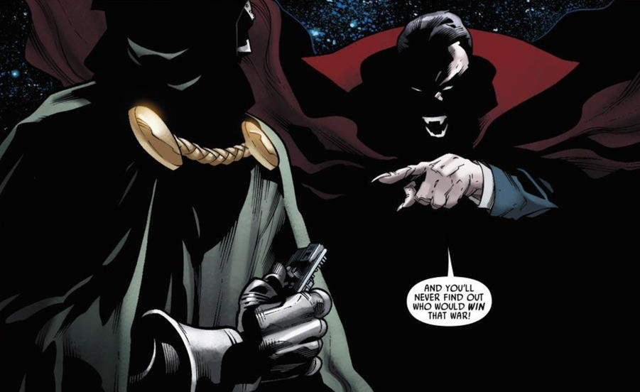 Dracula and Doctor Doom