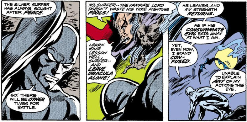 Dracula and Silver Surfer
