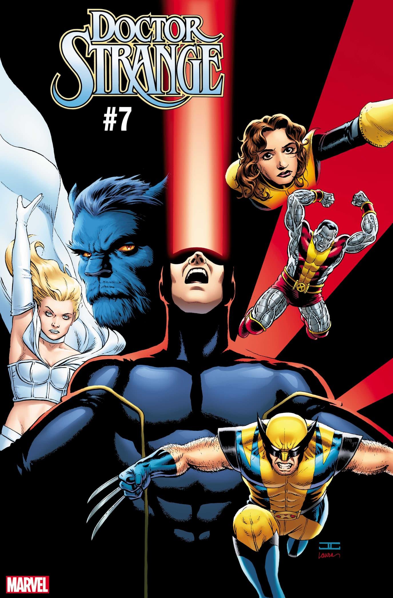 DOCTOR STRANGE #7 / UNCANNY X-MEN VARIANT COVER by John Cassaday