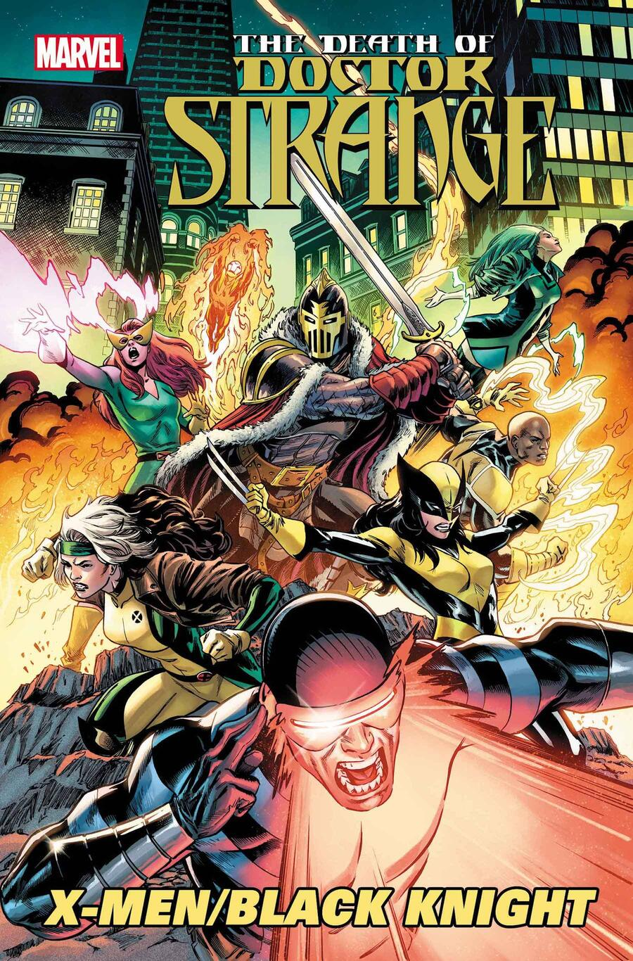 DEATH OF DOCTOR STRANGE: X-MEN/BLACK KNIGHT #1 cover by Cory Smith