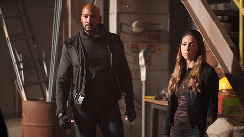 Image for Henry Simmons and Natalia Cordova-Buckley Return to This Week in Marvel's Agents of S.H.I.E.L.D.
