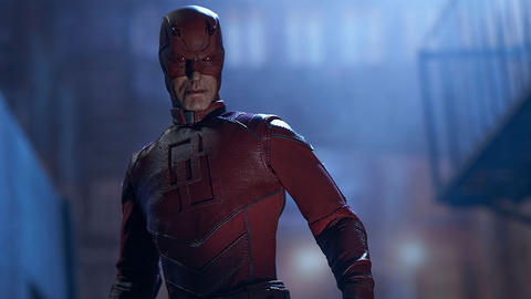 Image for The Design Elements at Work in Sideshow Collectibles' Daredevil Sixth Scale Figure