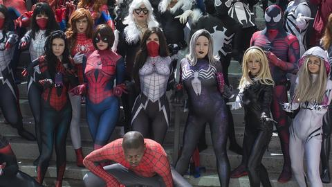 Image for Marvel Cosplay at Dragon Con 2017