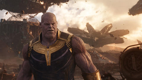 Image for With Marvel Studios' 'Avengers: Infinity War' Almost Here, #ThanosDemandsYourSilence