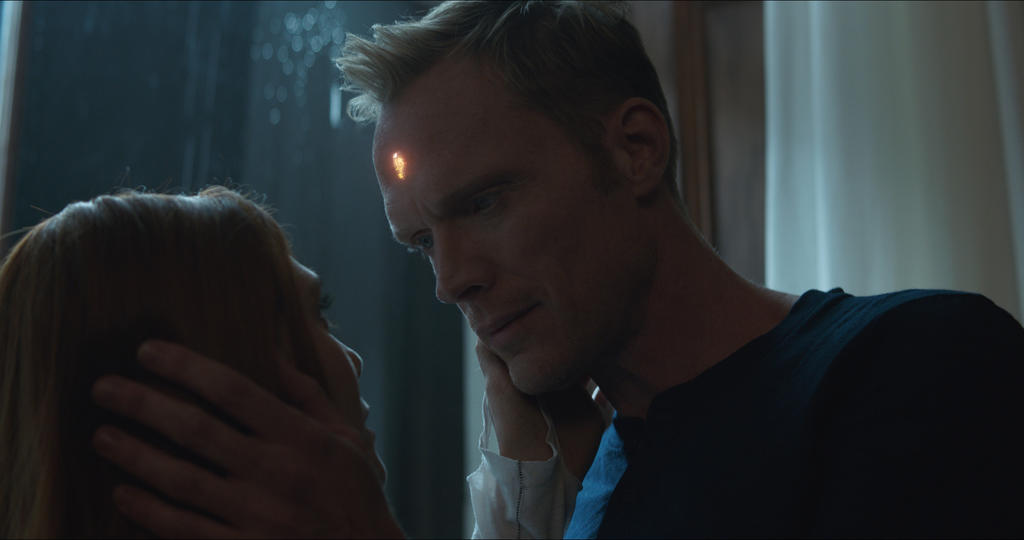 Image for Elizabeth Olsen and Paul Bettany Believe Scarlet Witch and Vision's Relationship Is An Asset To Help Spur On The Fight In 'Avengers: Infinity War'