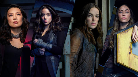Image for The Women of Agents of S.H.I.E.L.D.!