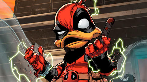 Image for New High Flying Adventures in Deadpool The Duck #1