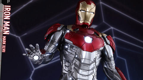 Image for Preview the Iron Man Mark XLVII Figure from Spider-Man: Homecoming