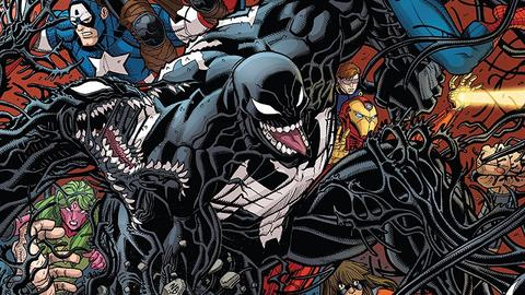 Image for Earth's Heroes get Venomized