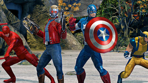 Image for Marvel Heroes Omega: Beta Blast