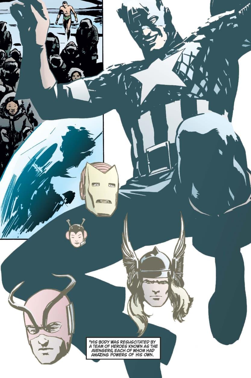 The origin of Captain America in EARTH X (1999) #1.