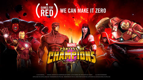 Image for Entering Marvel Contest of Champions: (RED)®