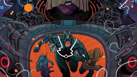 Image for Black Bolt: Prison Break