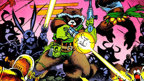 Image for Flashback Friday: Rocket Raccoon